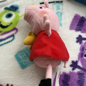 P2 Peppa Pig Plush Soft Toy Teddy Peppa Rare