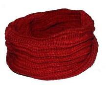 Men Women Wool Knit Winter Warm Cowl Neck Infinity Circle Scarf Shawl Xmas