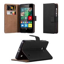 Fundas y carcasas lisos de piel para teléfonos móviles y PDAs Nokia