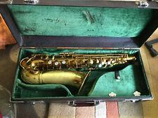 Vintage Early 1950's HN White King Cleveland Alto Sax