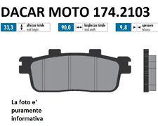 174.2103 PASTILLA DE FRENO SINTERED POLINI KYMCO DOWNTOWN 300i 4 V.SK60A 2011/