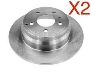Rear Brake Discs 295mm Volvo 850 C70 V70 S70 31262099 271794