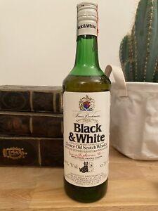 black white whisky - Liquore Vintage Da Collezione - 40 % - 70 cl