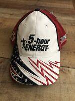 NASCAR 2014 American Salute 5 Hour Energy Racing # 15 Clint Bower Cap Hat Rare!!