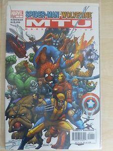 """Marvel Team Up Issue 1 """"Spider Man Wolverine"""" - 2005 Kirkman"""