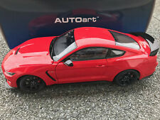1/18 Ford Mustang Shelby GT350 R race red AutoArt Art.72935 NEU + OVP !