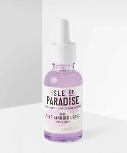 Isle of Paradise Self Tanning Drops Dark 30ml