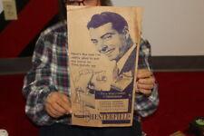 Vintage 1940's Chesterfield Cigarettes Joe Dimaggio Baseball Yankees Sign