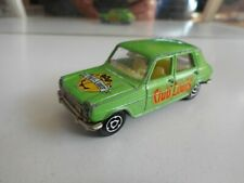 "Majorette Simca 1100 TI ""Club Louis"" in Green"