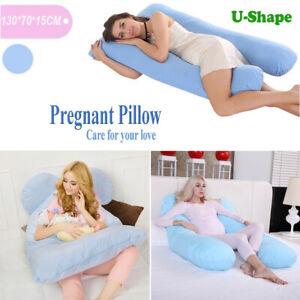 U-Shape Full Body Maternity Pillow Nursing Sleeping Support for Pregnant Women
