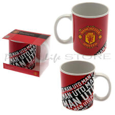 Official Manchester United FC Impact Mug Official Football Sports Christmas Gift