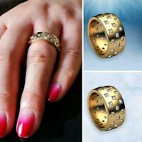 Damen Luxus minimalistischen geometrischen Ring Ehering Neu Geschenk E7C3