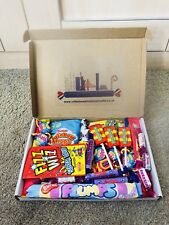 CHRISTMAS Retro Sweets Hamper Old Fashioned 80s Traditional Xmas Candy Gift Box