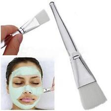 2x Facial Mask Brush Skin Care Beauty Tool Transparent Handle Makeup Cosmetic AA