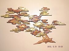 Copper & Brass Tree Sculpture Handmade one of kind - Large 32 x 22 x 3