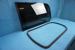 Lexus LX470 Quarter Window Glass w/ Weatherstrip Driver's Side 2001-2003 OEM