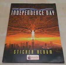 Merlin Sticker album compleet Independence Day 1996