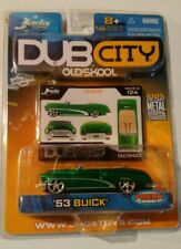 '53 Buick * GREEN * 2005 DUB CITY Old Skool * Jada Toys