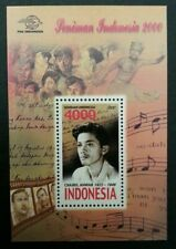 Indonesia Artists 2000 Film Movie Music Traditional Dance Art Star (ms) MNH