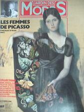 PICASSO FEMMES MUSES ENFANTS LIEUX AU QUOTIDIEN MUSéES LE JARDIN DES MODES 1985
