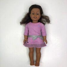 American Girl Truly Me Doll African American Brown Eyes Teeth Pierced Ears