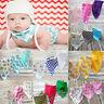 3pcs bébé filles salive serviette bandana bavettes triangle enfants foulard
