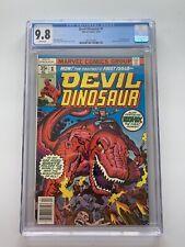 DEVIL DINOSAUR #1 CGC 9.8 1st Devil Dino And 1st Moon Boy Jack Kirby NM/M Marvel