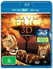 Amazing Africa 3D : NEW Blu-Ray 3D