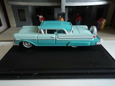 Oxford  1957  Mercury Turnpike     Tahitian Green   1/87   HO  diecast car