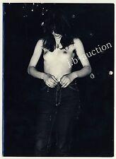 JEANS GIRL STRIPPING Hairy Armpits MÄDCHEN BEIM AUSZIEHEN * Vintage 60s Photo