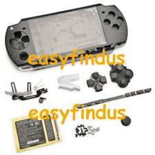 PSP 2000 Slim Full Housing Shell Case repair parts replacement button black new