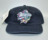 Vintage 1998 MLB World Series Logo 7 Adjustable Strapback Cap Hat - NWT
