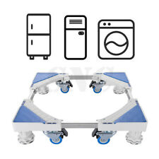 Stand for Fridge Movable Trolley Base Adjustable Universal Washing Machine Floor