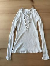 Women's Size XS Urban Outfitters Off White T Shirt