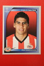PANINI CHAMPIONS LEAGUE 2008/09 # 420 PSV EINDHOVEN SALCIDO BLACK BACK MINT!