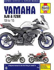 5889 Haynes Yamaha XJ6 & FZ6R 2009- 2015 Workshop Manual