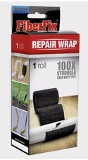 Medium FiberFix Fiber Fix Repair Wrap Roll Fiberglass Tape Seal 2in X 50in Black