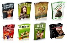 100 Weight Loss & Health eBooks With Full Master Resell Rights PDF Free Ship