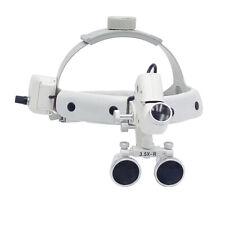 Dental Led Headlight 35x R Headband Binocular Loupes Headband Mounted Dy 106