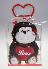 "Valentine Monkey In Box With Red Heart Gift Regalo Brown New 6"" Mono Cafe lOve"