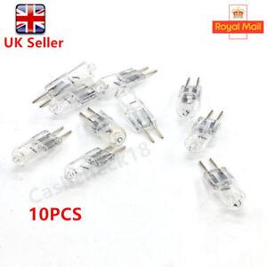 10PCS G4 Halogen Capsule Lamps Light Bulbs 10W or 20 Watt 12 Volt 2 Pin UK cckk