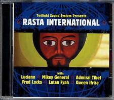 Reggae Roots CD Music Rasta International Twilight Circus Luciano Fred Locks New