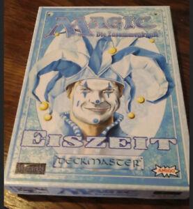 Magic the Gathering Ice Age Giftbox Eiszeit deckmaster vintage