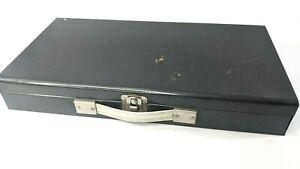 Vintage Logan De Luxe 2 x 2 Metal Case Slide File No. 110 Holds 150 35 mm Slides