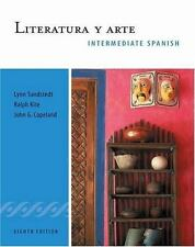Literatura y arte: Intermediate Spanish Series (World Languages) Sandstedt, Lyn