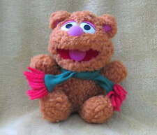 "Baby FOZZIE Bear 7"" Muppet Baby Plush Washable TOY Clean  Fozzy Henson Sesame"