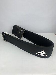 Adidas Essential Weight Lifting Belt Fits Size L 37-43 Waist Black New