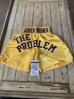 Adrien Broner Autographed/Signed Boxing Shorts PSA/DNA The Problem Adrian