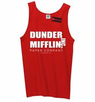 Dunder Mifflin Inc A Paper Company T Shirt Funny TV Show Gift Mens Tank Top Z3