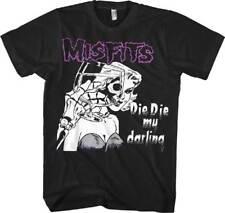 Misfits Die Die My Darling M, L, XL, 2XL Black T-Shirt
